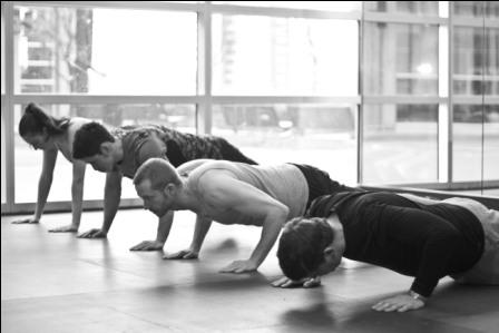 Vancouver Boot Camp Class - Push Ups